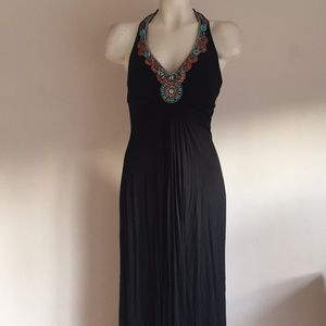 Cache maxi dress Beaded NWT $158